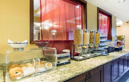 Welcome To The Oaks Hotel & Suites - Breakfast Items